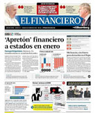 El Financiero Newspaper in Mexico